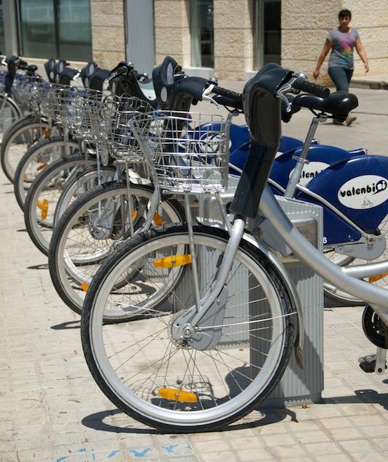 Servizio Valenbisi di Valencia - foto delle bici