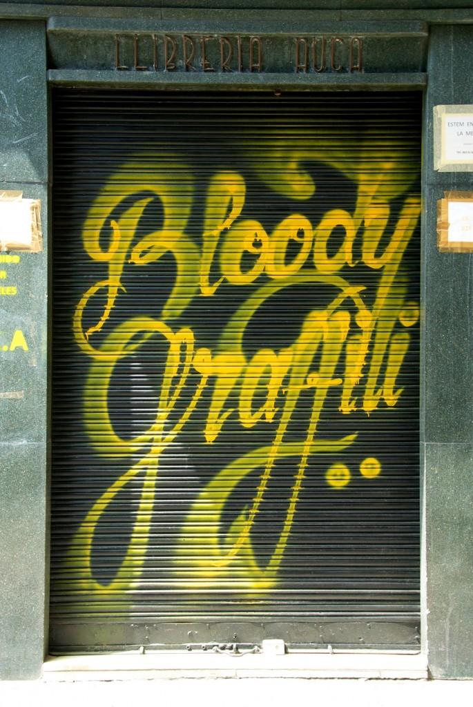 Graffiti di Valencia