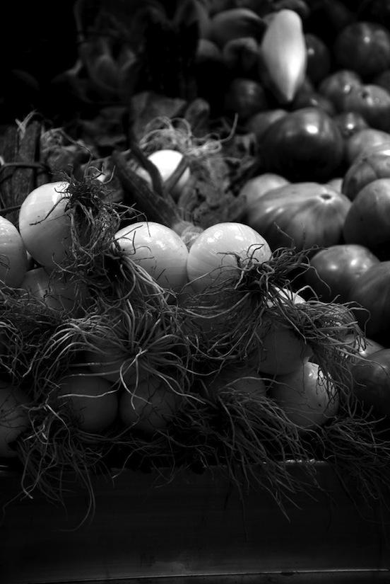 Cipollotti al mercato di Valencia