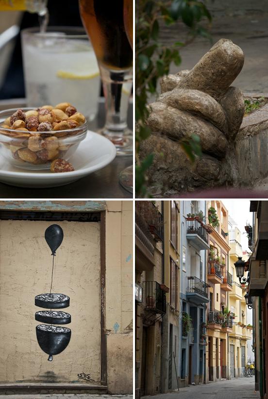 Cacaos e scorci di Valencia